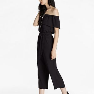 Lucky Brand Off the shoulder Jumpsuit